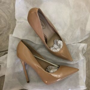 a97155db080 NEW CL inspired nude pointy toes high heels NWT